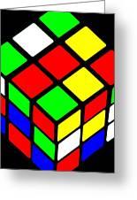 Rubik's Phone Greeting Card