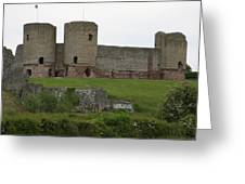Ruddlan Castle 2 Greeting Card