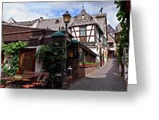 Rudesheim Greeting Card