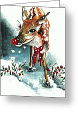 Rudolf Greeting Card
