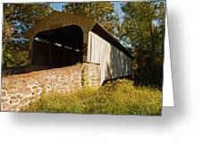 Rudolph Arthur Covered Bridge Greeting Card