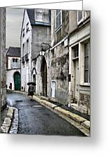 Rue A Chartres Greeting Card
