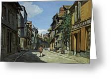 Rue De La Bavole Greeting Card