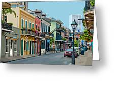 Rue Domaine New Orleans Greeting Card