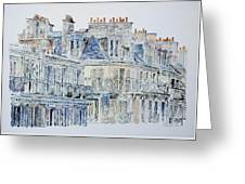 Rue Du Rivoli Paris Greeting Card