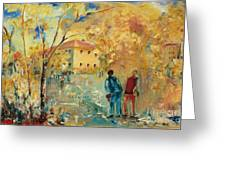 Rue Du Seminaire Greeting Card