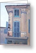 Rue Espariat Aix-en-provence Greeting Card