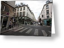 Rue Jacob Paris Greeting Card