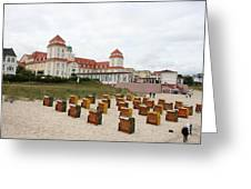 Ruegen Island Beach - Germany Greeting Card
