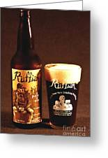 Ruffian Ale Greeting Card