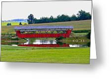 Ruffner Covered Bridge Greeting Card