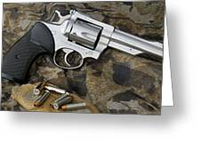 Ruger Security Six Stainless Greeting Card