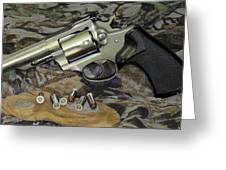 Ruger Security Six Still Life Greeting Card
