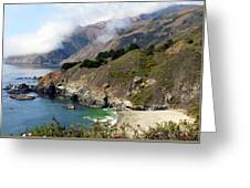 Rugged California Seashore Greeting Card