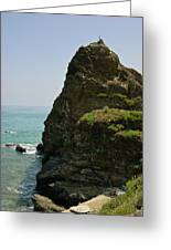 Rugged Cliff  Greeting Card
