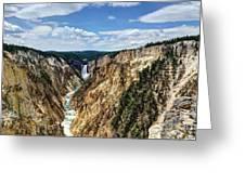 Rugged Lower Yellowstone Greeting Card by John Kelly