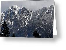 Rugged Mountain Greeting Card