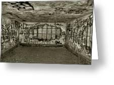Ruined Bunker Greeting Card