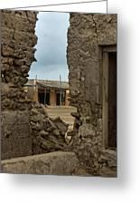 Ruins Of Al Hamra Greeting Card