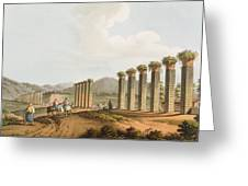 Ruins Of An Aqueduct Near Ephesus, 1810 Greeting Card