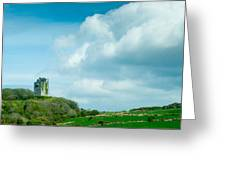 Ruins Of Irish Castle Greeting Card
