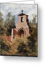 Ruins Of Morley Church Greeting Card by Sam Sidders