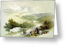 Ruins Of The Church Of St. John Sabaste 1839 Greeting Card