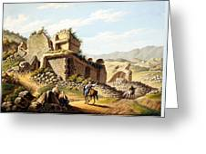 Ruins Of The Stadium, 1790s Greeting Card