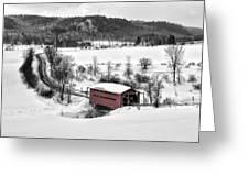 Ruisseau Meech Bridge Greeting Card