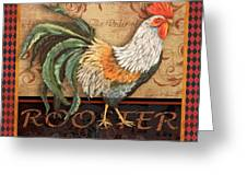 Ruler Of The Roost-3 Greeting Card