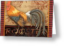Ruler Of The Roost-4 Greeting Card