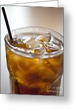Rum And Coke Greeting Card