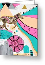 Running High Greeting Card by Susan Claire