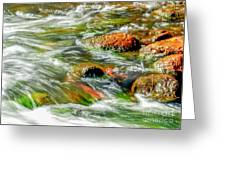 Running River Greeting Card