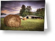 Rural American Farm Greeting Card