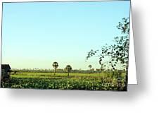 Rural Cambodia Greeting Card
