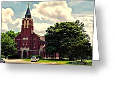 Rural Church Usa Greeting Card