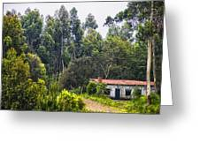 Rural House Greeting Card