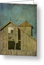 Rural Iowa Barn 5 Greeting Card