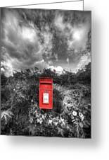 Rural Post Box Greeting Card