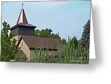 Rural Roadside Church Greeting Card