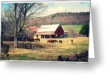 Ruralscape Greeting Card