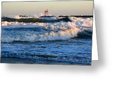 Rush Hour On Cape Cod Greeting Card