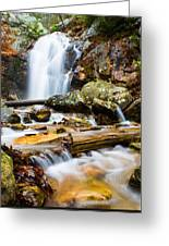 Rushing Falls Greeting Card