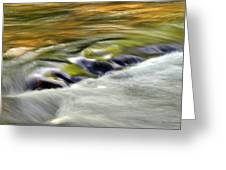 Rushing Water Greeting Card