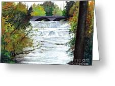 Rushing Water - Quiet Thoughts Greeting Card
