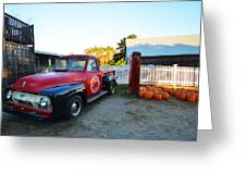 Russel Farms 1951 Ford F100 Greeting Card