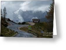 Russian Road - Slovenia Greeting Card
