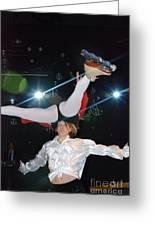 Russian Skating Dancers 2 Greeting Card