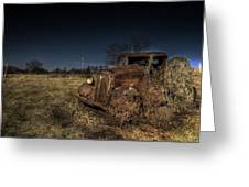 Rust And Bracken Greeting Card